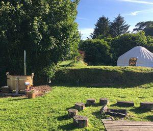 Little Links Yurt in Devon