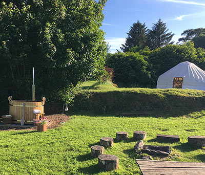 Romantic Yurt Holidays in Devon