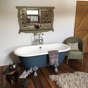 Antique roll topped bath for The Granary