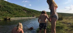 wild swimming on Dartmoor