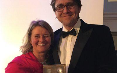 Devon Yurt wins Silver at Visit Devon Tourism Awards