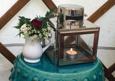bedside-table-flowers-lantern