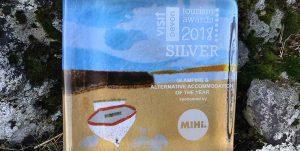 Devon Yurt Silver Award