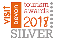 Silver winner of Visit Devon Tourism Awards 2018