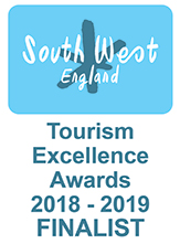 South West England Tourism Excellence Award Finalist