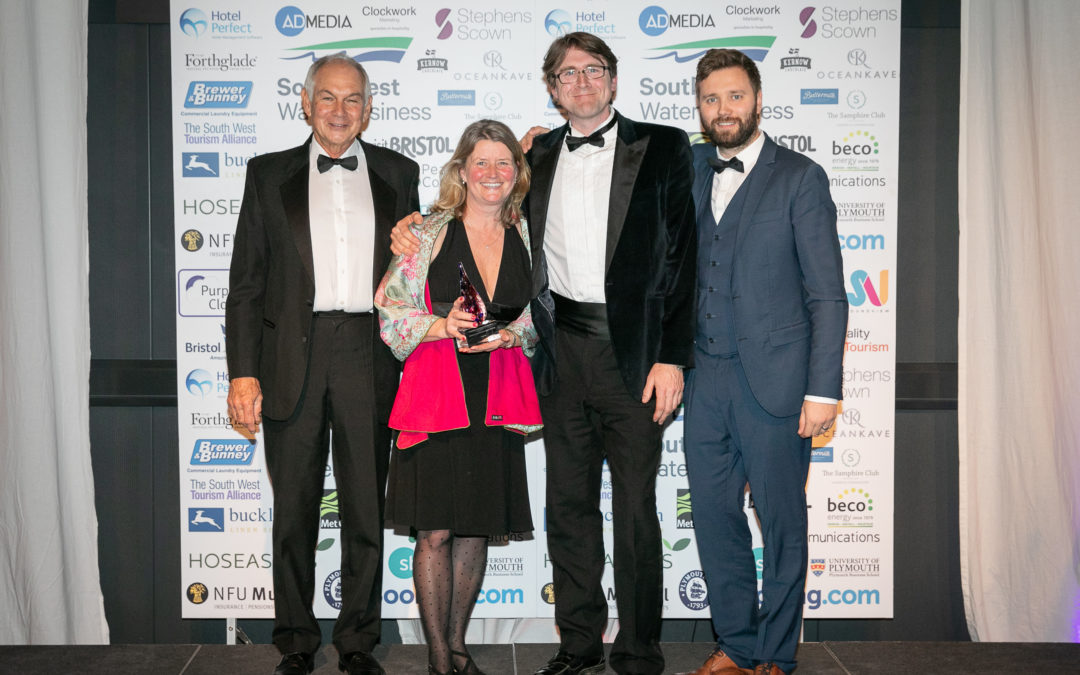 South West Tourism Excellence – Devon Yurt is a winner !