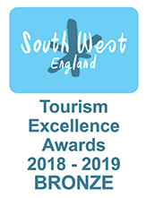 South West England Tourism Excellence Award Bronze Winner