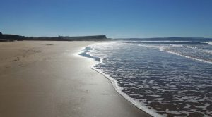 unspoilt beaches on a sunny day