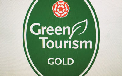 Gold Award for Green Tourism awarded to Devon Yurt