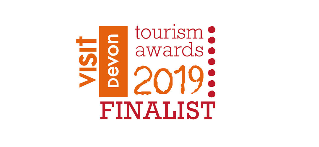We are finalists in the Visit Devon Tourism Awards for the second consecutive year !