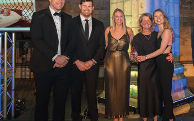 Devon Yurt wins prestigious Silver Award at the South West Tourism Excellence Awards